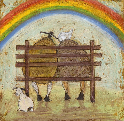 Sam Toft And then the sun came out rainbow