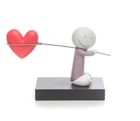 Doug Hyde Caught up in Love sculpture