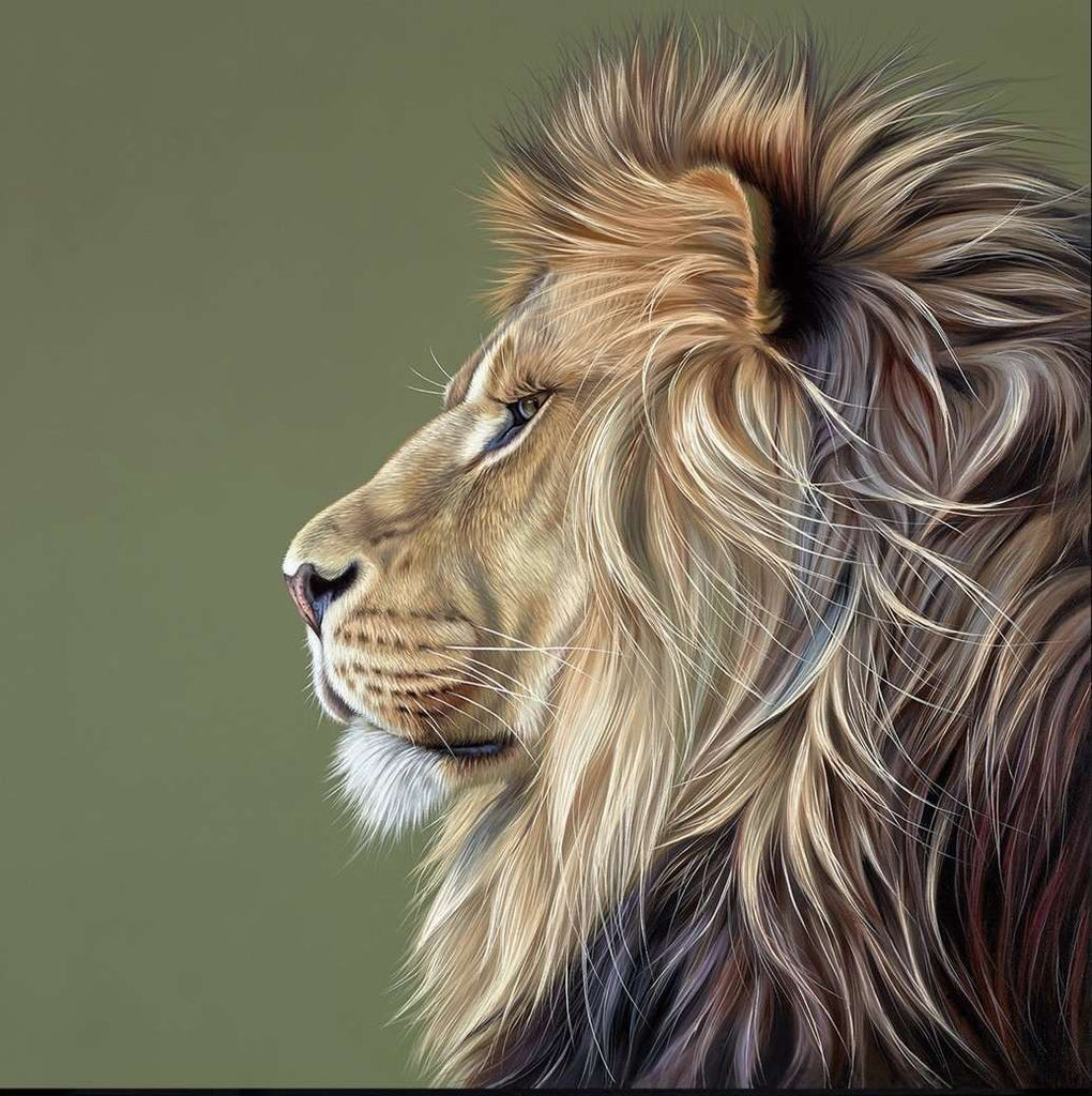 Darryn Eggleton King of the Savannah Limited edition artwork