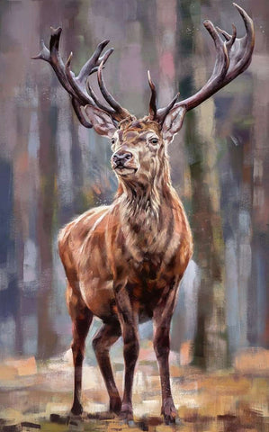 Debbie Boon Standing Tall Stag art print