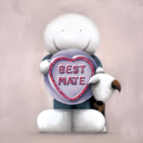 Doug Hyde Best Mate Love hearts artwork