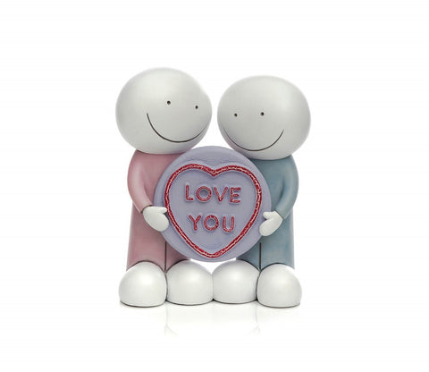 Doug Hyde Love you sculpture