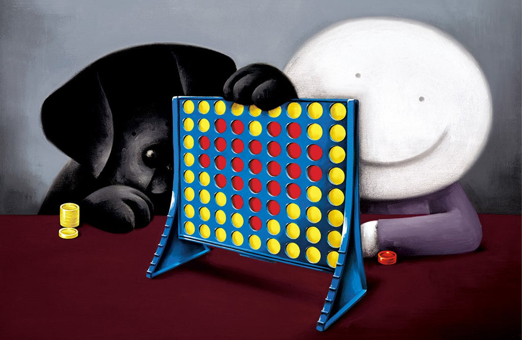 Doug Hyde Connect 4 Love mounted 2019