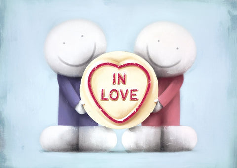 Doug Hyde 2019 Together in Love mounted