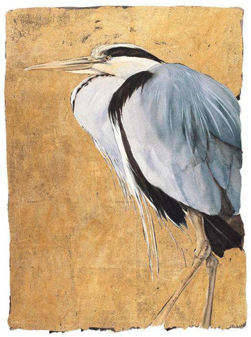 Jackie Morris & Robert MacFarlane The Lost Words Heron Limited Edition Print