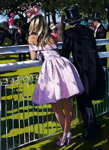 Sherree Valentine Daines Vision in Pink limited edition print