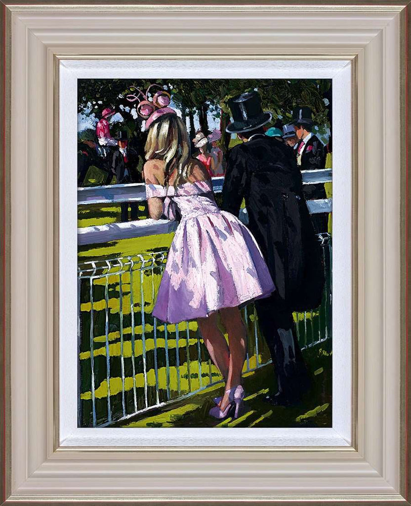 Sherree Valentine Daines Vision in Pink framed,  limited edition print