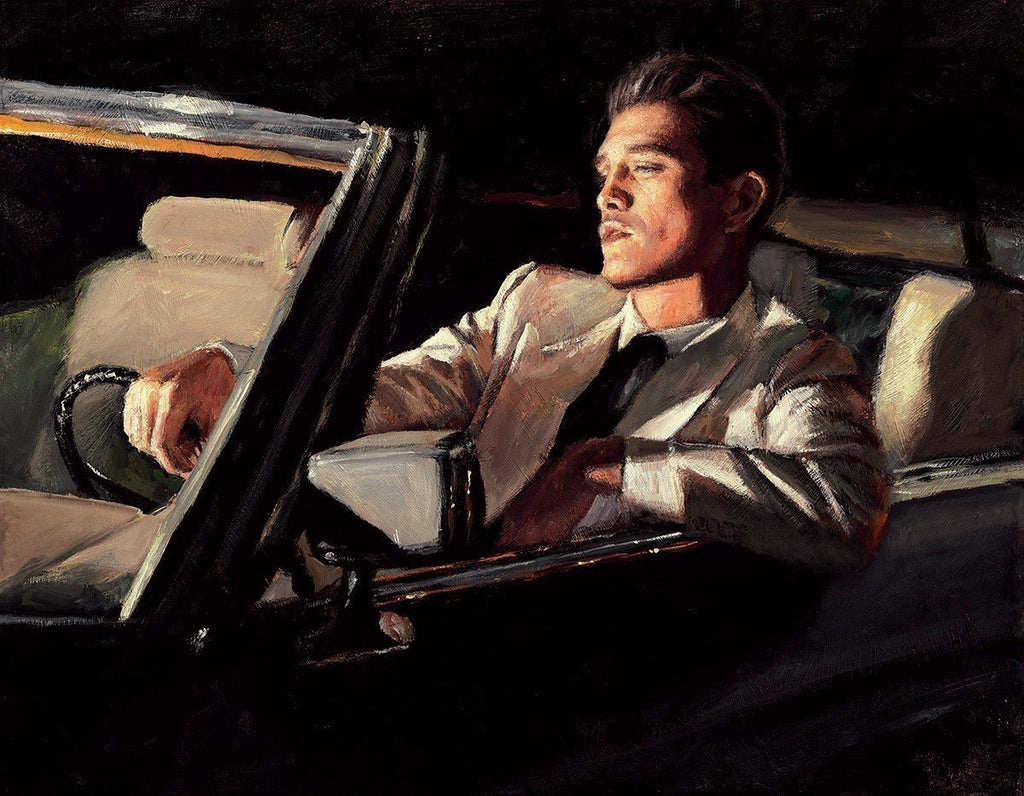 Fabian Perez- Late Drive II | Limited Edition | Free UK Delivery