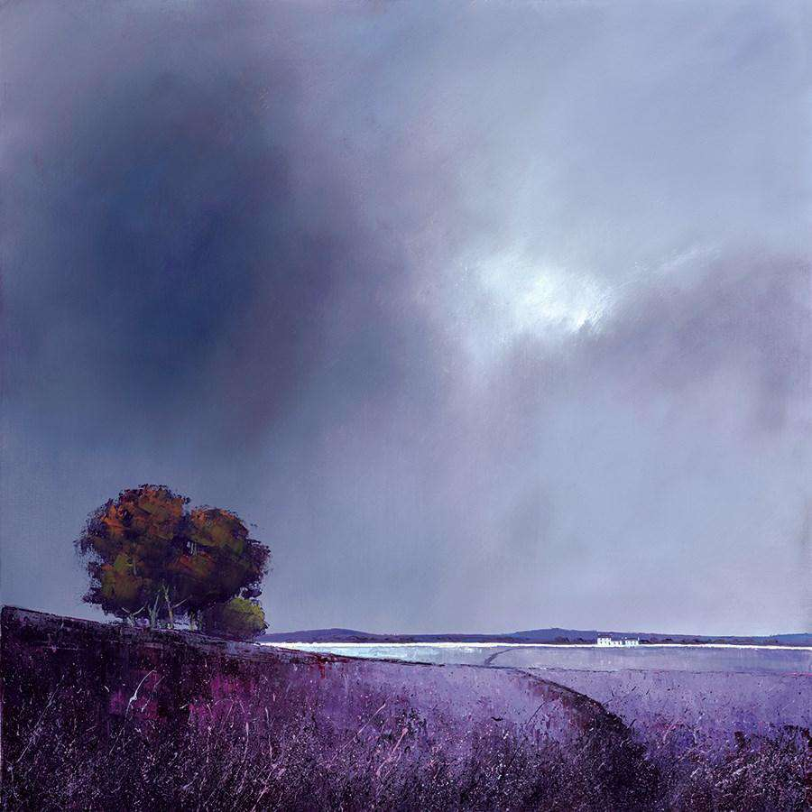 Barry Hilton- Lavender Skies | Hand Finished Limited Edition | Free UK delivery