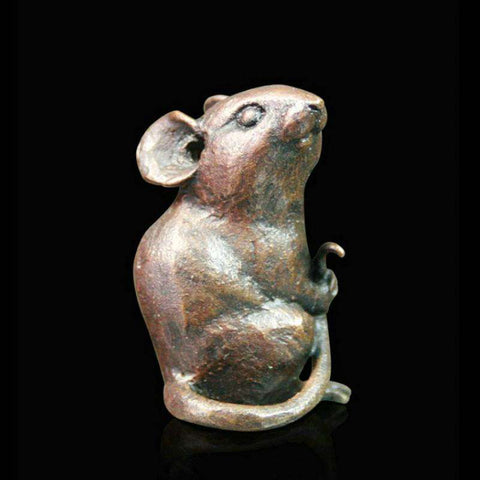 Richard Cooper Little Mouse Bronze Sculpture