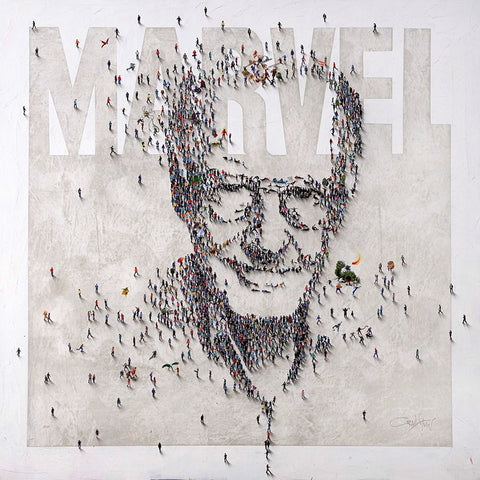 Stan Lee tribute Marvel comics Craig Alan portrait