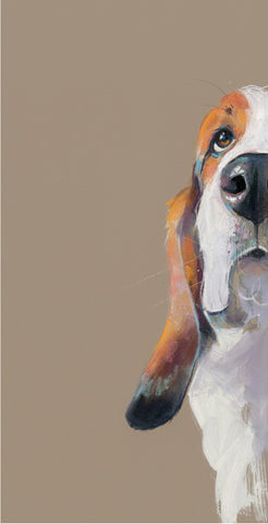 Nicky Litchfield Peek a boo new beagle art print