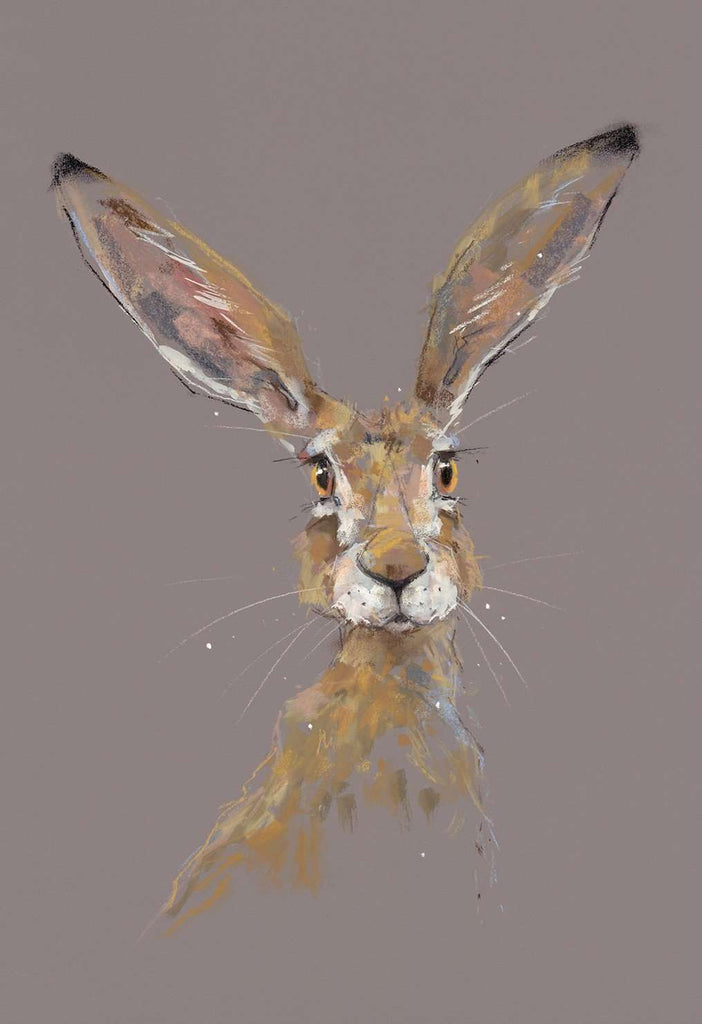 Nicky Litchfield All ears hare