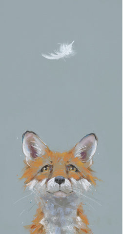 Nicky Litchfield Forrest Fox mounted art print 2019