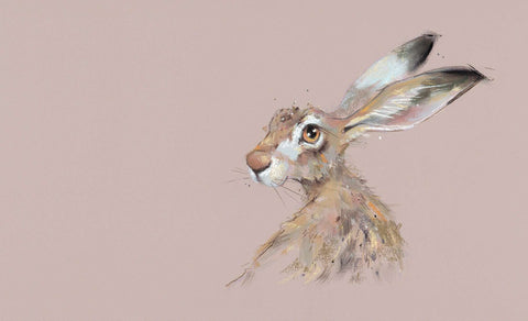 Nicky Litchfield Hermione hare mounted
