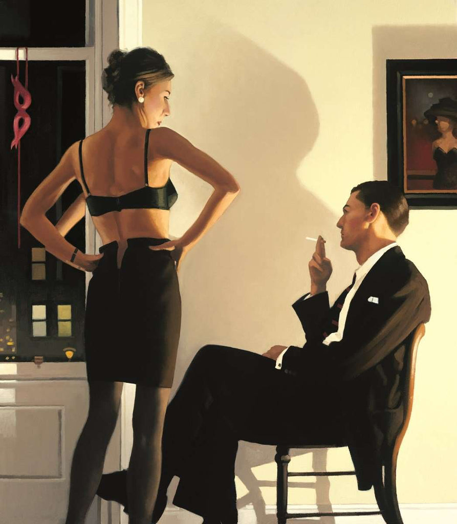 Jack Vettriano Night in the City | Limited Edition | Framed | Free UK Delivery