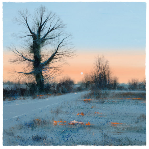Paul Evans Winter Sunrise Limited edition art print 2020 release