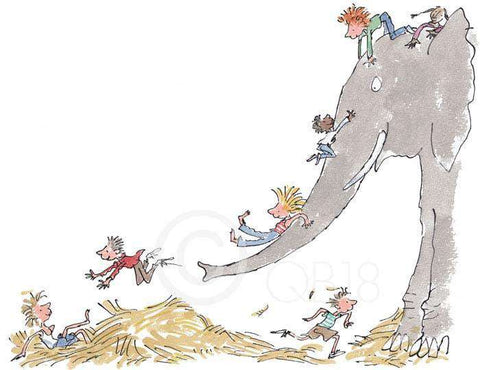 Quentin Blake Its large & grey & lots of fun