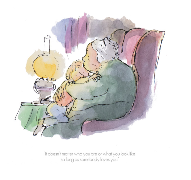 Quentin Blake Collector's edition print It doesn't matter who you are