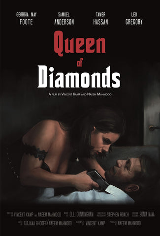 Vincent Kamp- Queen of Diamonds | Limited Edition | Free UK Delivery