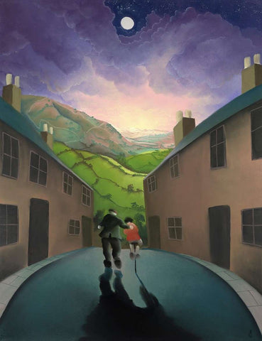 Mackenzie Thorpe- Riding with Grandad | Signed Limited Edition | Free UK Delivery