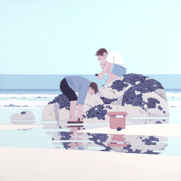 Sasha Harding-Mussel Pickers | Limited Edition | Free UK Delivery