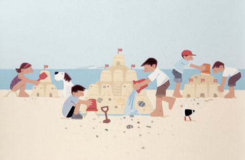 Sasha Harding-Sandcastle Competition | Limited Edition | Free UK Delivery
