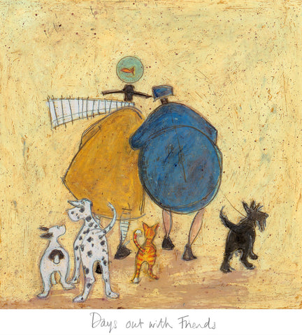 Sam Toft Days out with friends art print 2020 release