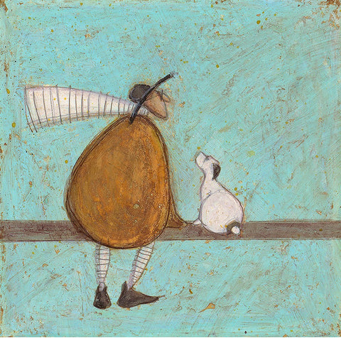 Sam Toft Just the two of us you and I artwork