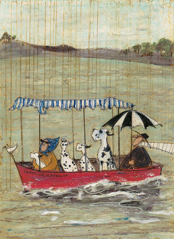 Sam Toft Occasional Showers new for 2020 art print