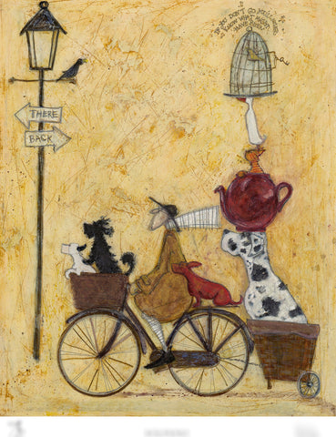 Sam Toft new release We're not lost, we're on our way remarque