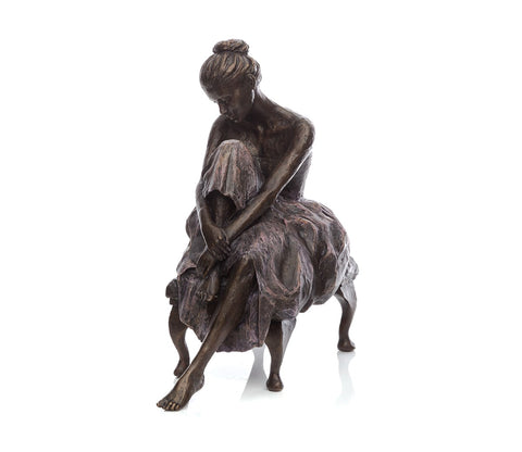 Sherree Valentine Daines Bronze Sculpture In repose