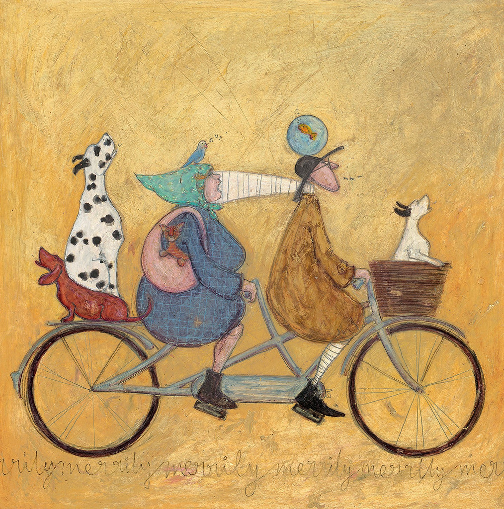 Sam Toft All Together now remarque edition