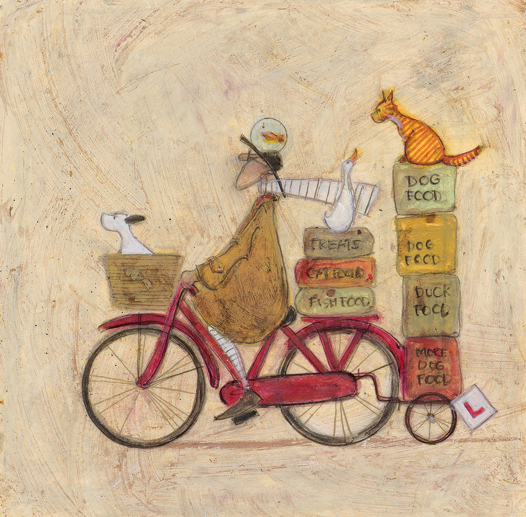 Sam Toft Join the Necessaries remarque