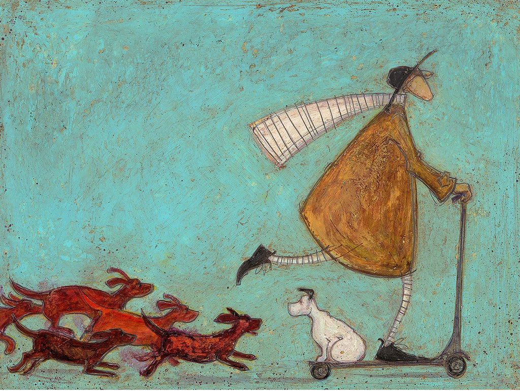 Sam Toft The Great Sausage Run mounted new for 2020
