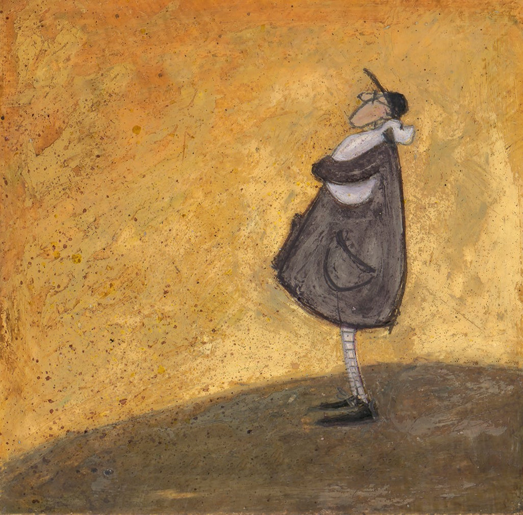 Sam Toft Tomorrow is another day mounted