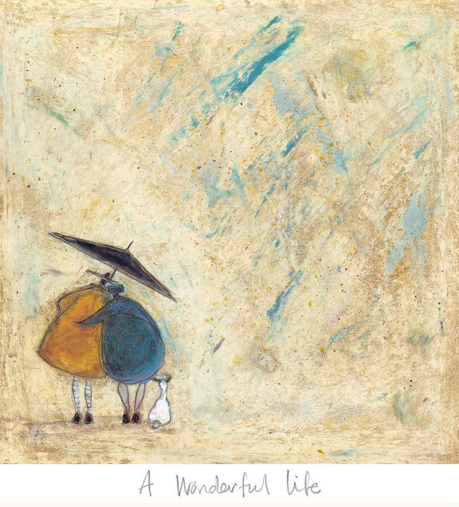 Sam Toft A Wonderful Life art print