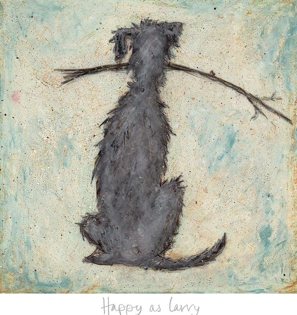 Sam Toft Happy as Larry art print
