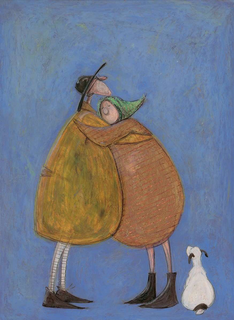 Sam Toft Last hug of the day mounted