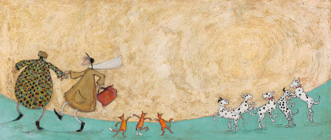 Sam Toft Strictly fun mounted