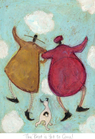 Sam Toft The Best is yet to come mounted art print