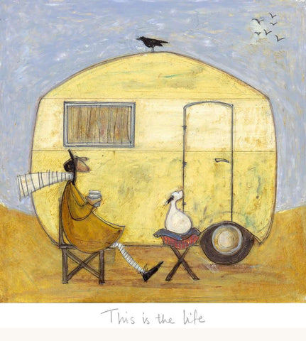 Sam Toft This is the life art print