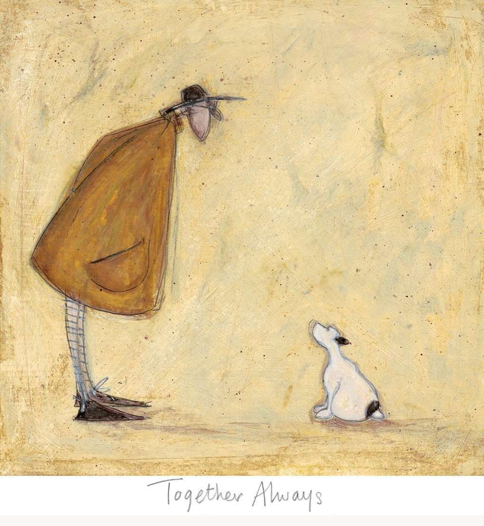 Sam Toft Together Always mounted art print