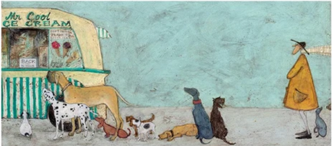 Sam Toft Waiting for Mr Cool
