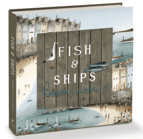 Fish and Ships art book Rebecca Lardner