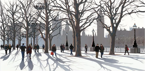 Jo Quigley A View of Parliament