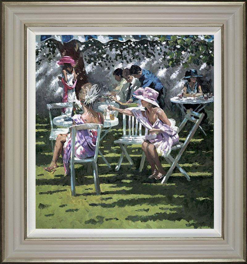 Sherree Valentine Daines Champagne in the Shadows framed