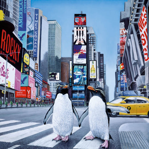 Steve Tandy New York Times Times Square US artwork
