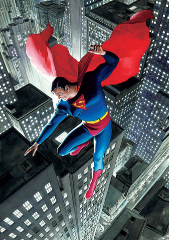 Superman DC superheroes artwork