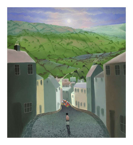 Mackenzie Thorpe-The Boy Without a Bike | Limited Edition | Free UK Delivery